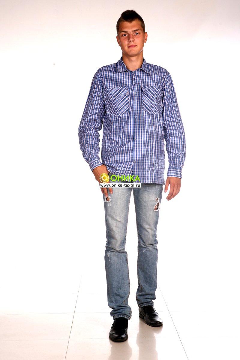 Сорочка мужская (модель №1 шотландка)