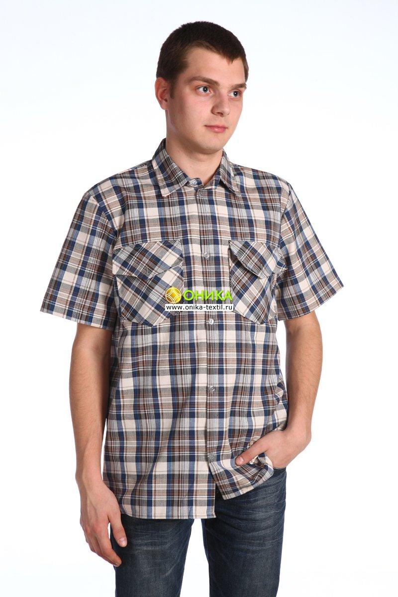 Сорочка мужская (модель №18 шотландка)