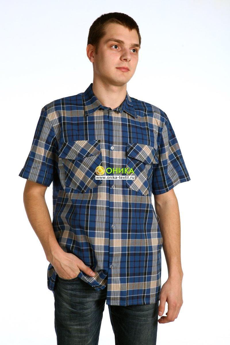 Сорочка мужская (модель №18 бязь)