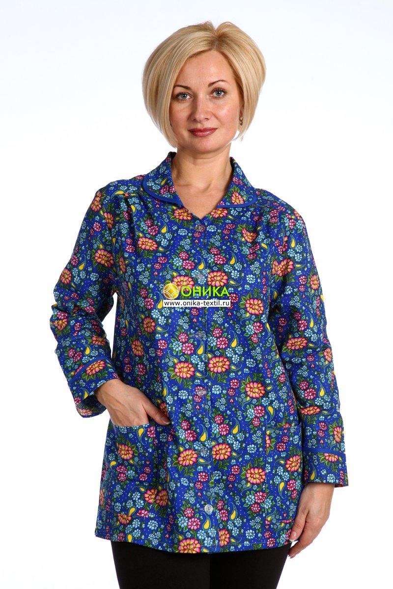 Увеличить - Блуза (модель № 5 д/р)