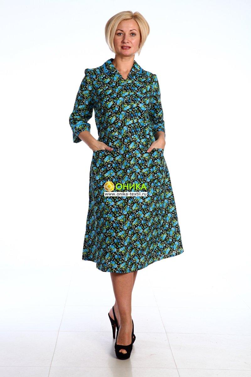 Увеличить - Платье рукав 3/4 (модель №51 бязь)
