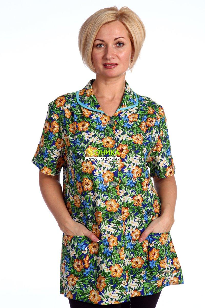 Увеличить - Блуза (модель № 5 к/р)