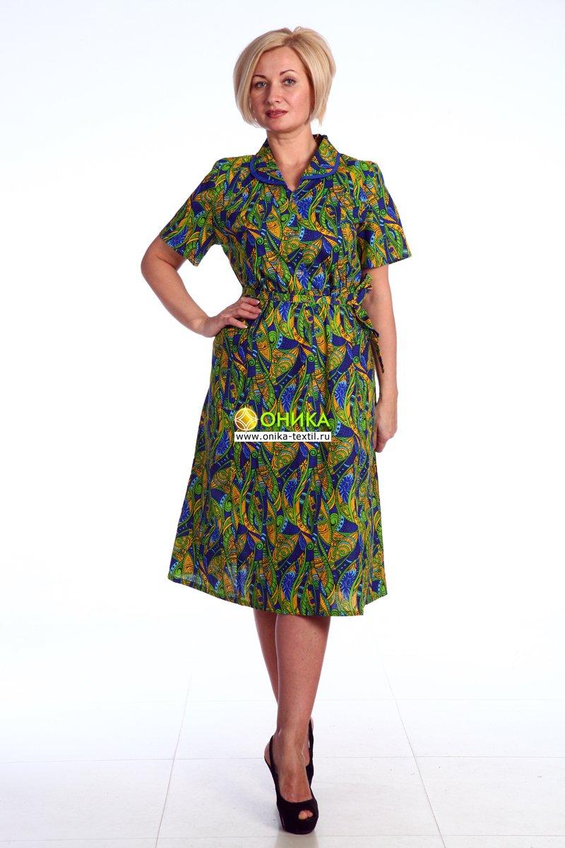 Увеличить - Платье короткий рукав (модель №51 бязь)