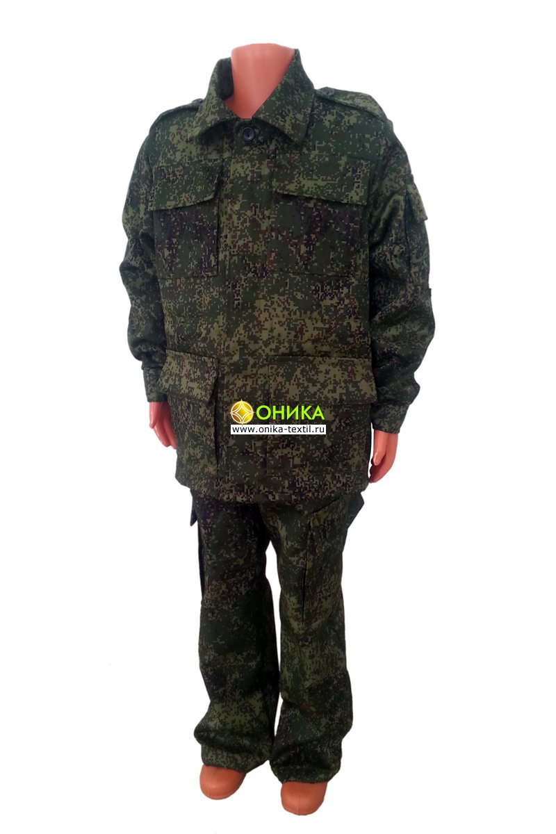 Костюм военно-полевой подростковый (цифра)