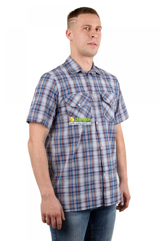 Рубашка мужская (модель №18 шотландка)