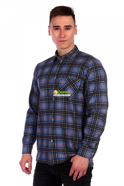Рубашка мужская (модель №1, фланель)
