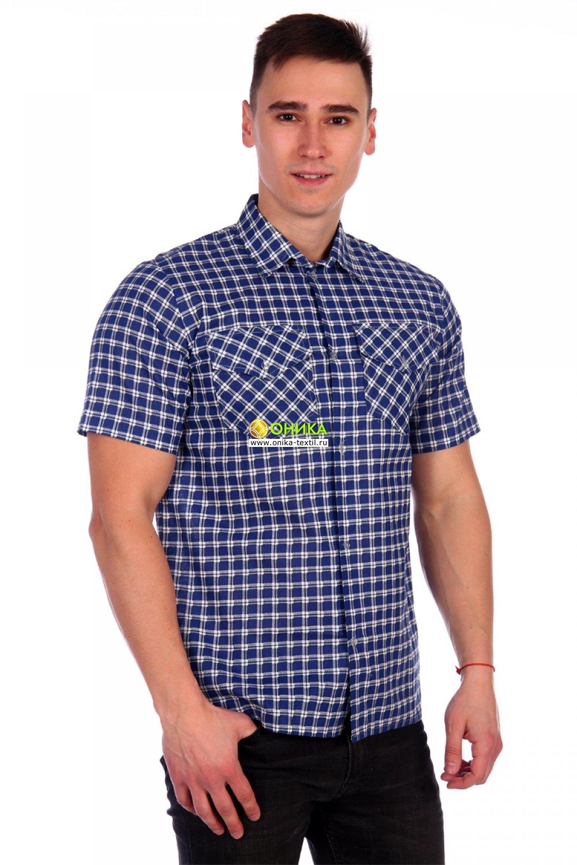 Увеличить - Рубашка мужская (модель №18 бязь)