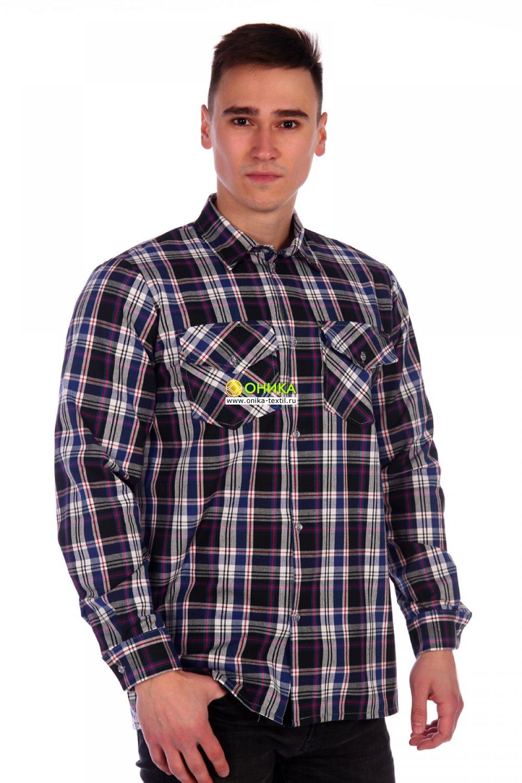 Рубашка мужская (модель №1 шотландка)