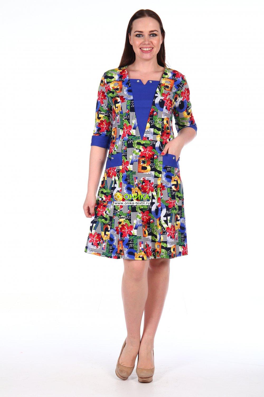 Увеличить - Платье мод. №93 трикотаж