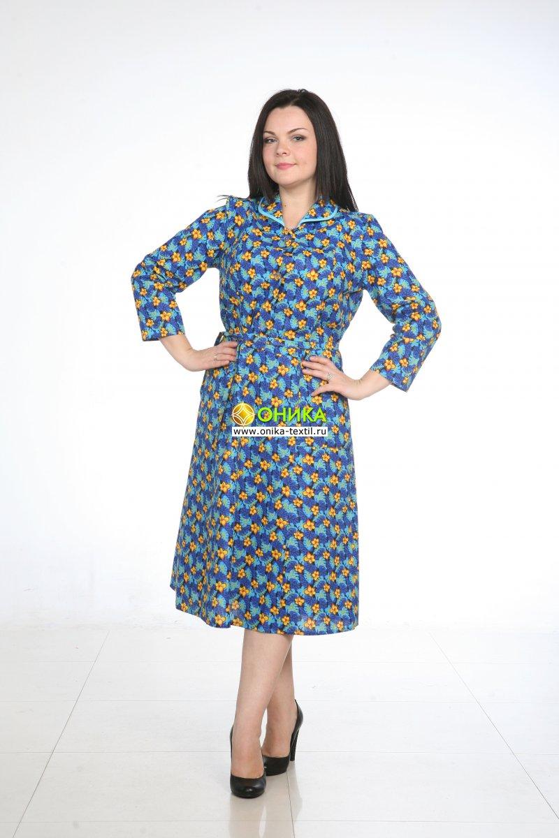 Платье длинный рукав (модель №51 великан бязь)