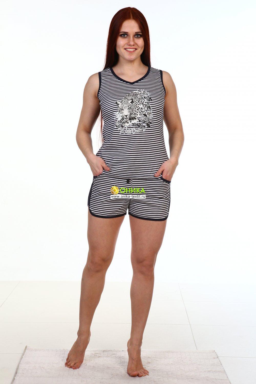 Комплект  Футболка+шорты мод. №27 трикотаж