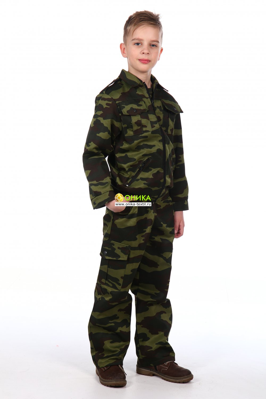 Костюм военно-полевой детский повседневный (Флора)