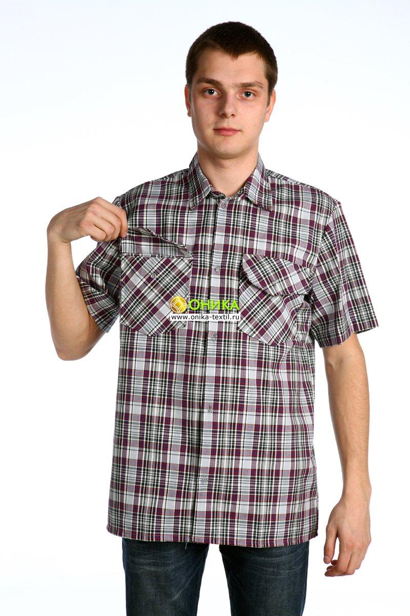Сорочка мужская (модель № 18 шотландка)